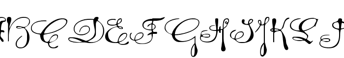 Rhalina Expanded Font UPPERCASE