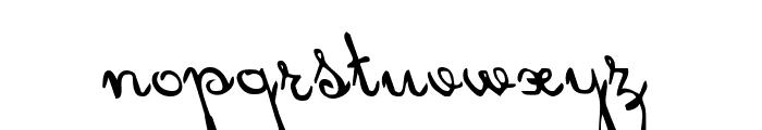 Rhalina Leftalic Font LOWERCASE
