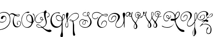Rhalina Font UPPERCASE