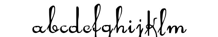 Rhalina Font LOWERCASE