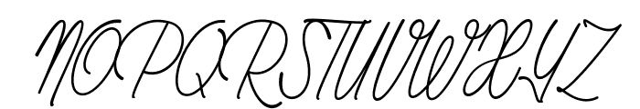Rhapsodize Slim_PersonalUseOnly Font UPPERCASE