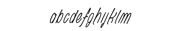Rhapsodize Slim_PersonalUseOnly Font LOWERCASE