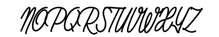 Rhapsodize_PersonalUseOnly Font UPPERCASE