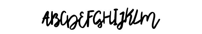 Rhiner Font UPPERCASE