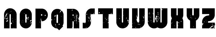 RhinoRaja Font UPPERCASE