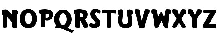 Rhinofon Normal Font UPPERCASE