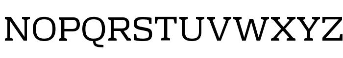 Rhodium Libre Font UPPERCASE