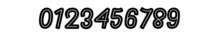 Rhomelia Strip Font OTHER CHARS