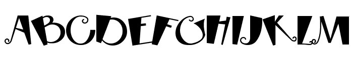 RhubarbPie Font UPPERCASE