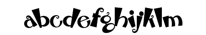 RhubarbPie Font LOWERCASE