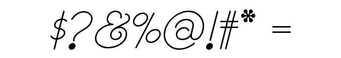 Rhumba Script NF Font OTHER CHARS