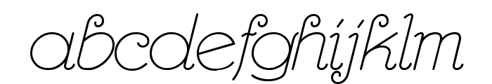 RhumbaScript Font LOWERCASE
