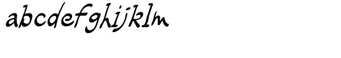 Rhodamine Blue Regular Font LOWERCASE