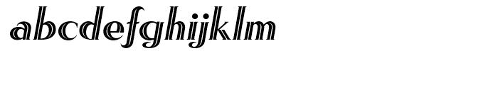 Rhythm One Font LOWERCASE