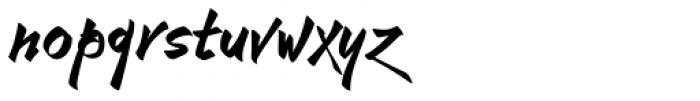 Rhapsodie Font LOWERCASE