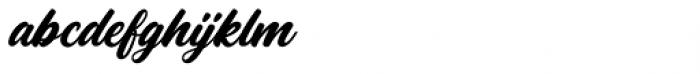 Rhapson Script Regular Font LOWERCASE