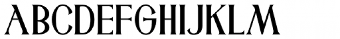 Rhineland Roman JNL Font UPPERCASE