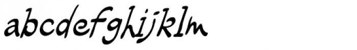 Rhodamine Blue Font LOWERCASE