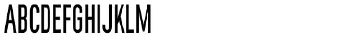 Rhomus Condensed Font UPPERCASE