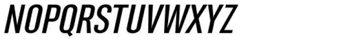 Rhomus Expanded Oblique Font UPPERCASE