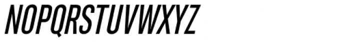 Rhomus Oblique Font UPPERCASE