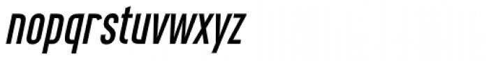 Rhomus Oblique Font LOWERCASE