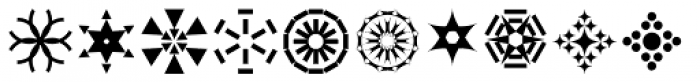 Rhomus Omnilots Font LOWERCASE