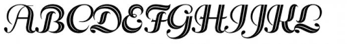 Rhythm One Font UPPERCASE