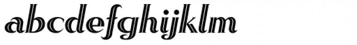 Rhythm Two Font LOWERCASE