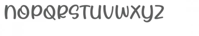 Rhigen Font UPPERCASE