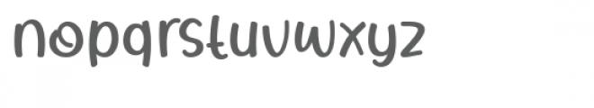 Rhigen Font LOWERCASE