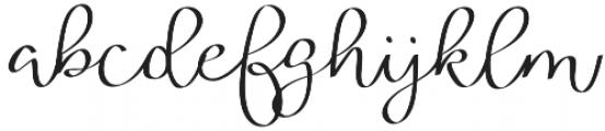Ribbon of Romance otf (400) Font LOWERCASE