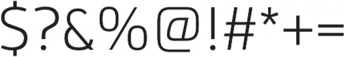 Ribera Light otf (300) Font OTHER CHARS