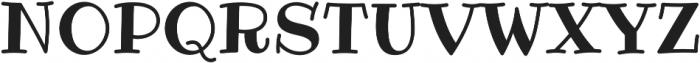 Ribeye Pro Regular otf (400) Font UPPERCASE