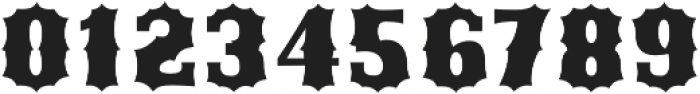 Ribfest Fill Regular otf (400) Font OTHER CHARS