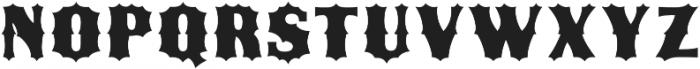 Ribfest Fill Regular otf (400) Font UPPERCASE