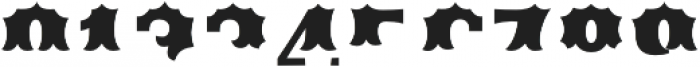 Ribfest Fill T Regular otf (400) Font OTHER CHARS