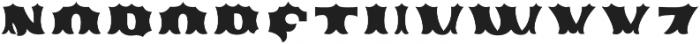 Ribfest Fill T Regular otf (400) Font LOWERCASE