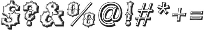 Ribfest Open L Regular Italic otf (400) Font OTHER CHARS