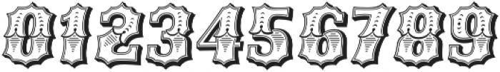 Ribfest Regular Italic otf (400) Font OTHER CHARS