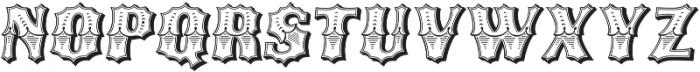 Ribfest Regular Italic otf (400) Font LOWERCASE