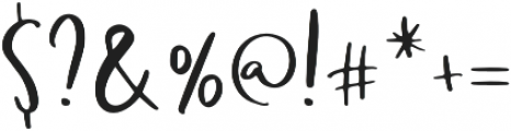 Richard otf (400) Font OTHER CHARS
