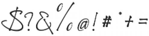 Richardine HT otf (400) Font OTHER CHARS