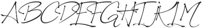 Richardine HT otf (400) Font UPPERCASE