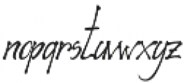 Richardine HT otf (400) Font LOWERCASE