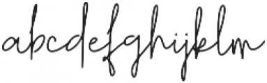 Richie Youthfield Alt otf (400) Font LOWERCASE