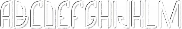 Richmond LightAndShadowFX otf (300) Font UPPERCASE