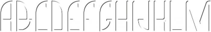 Richmond LightFX otf (300) Font UPPERCASE