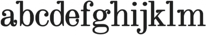 Ricko Bold otf (700) Font LOWERCASE