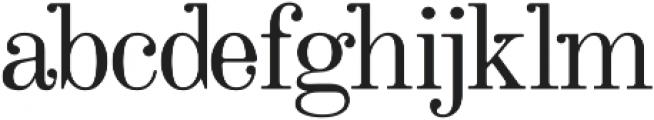 Ricko Regular otf (400) Font LOWERCASE